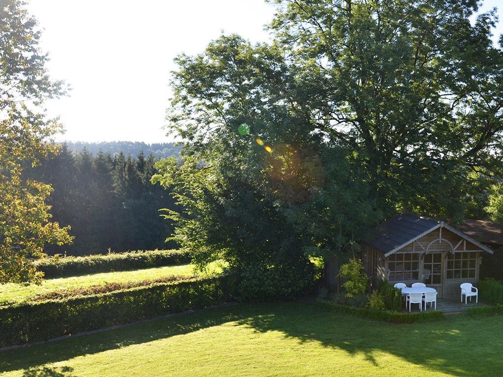 Bel Horizon uitzicht tuin